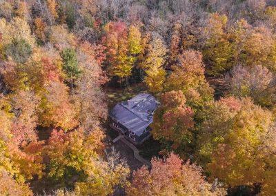 Bark River Home Fall