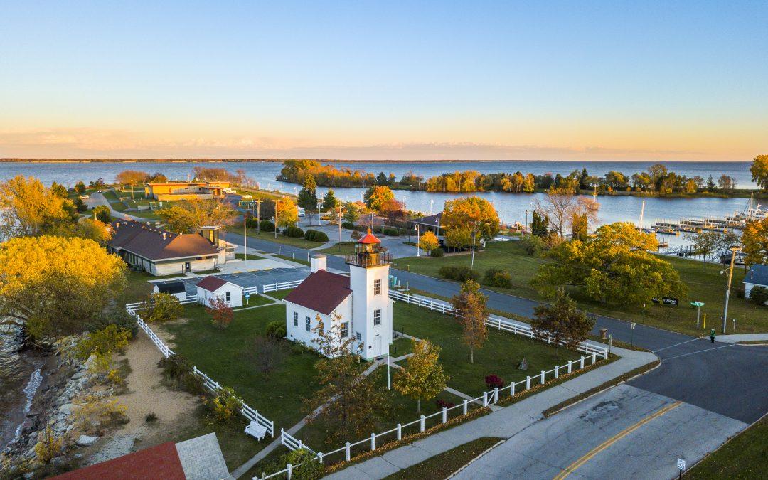 Sand Point Lighthouse Fall